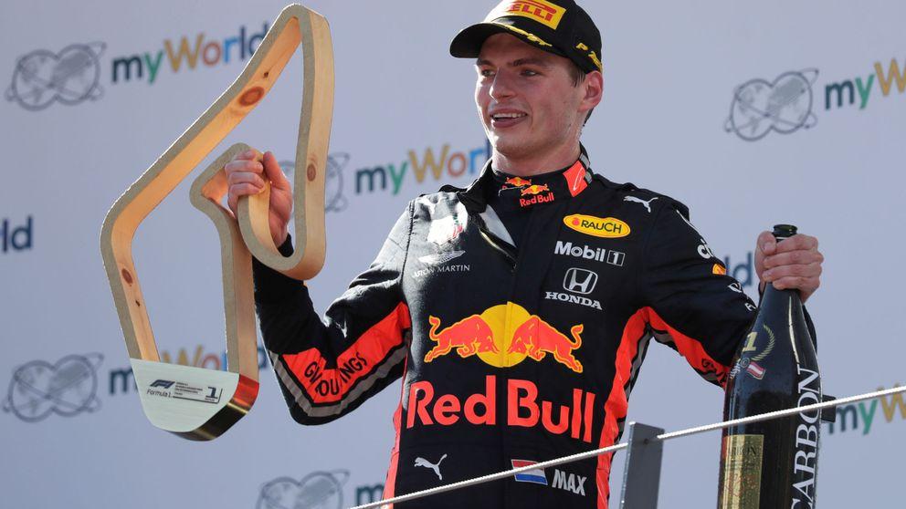 El duro bofetón de Verstappen a Ferrari en la espectacular remontada de Carlos Sainz