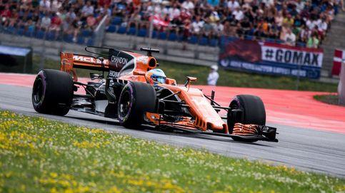 Alonso huele a un buen domingo: Me voy encantado de cómo salen las cosas
