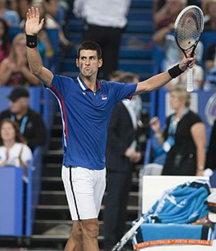 Foto: Djokovic y Azarenka, primeros cabezas de serie en el Abierto de Australia