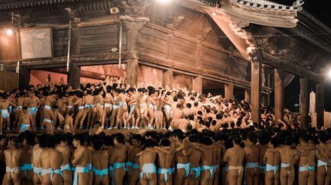'Hadaka Matsuri': la fiesta japonesa donde los hombres beben sake casi desnudos
