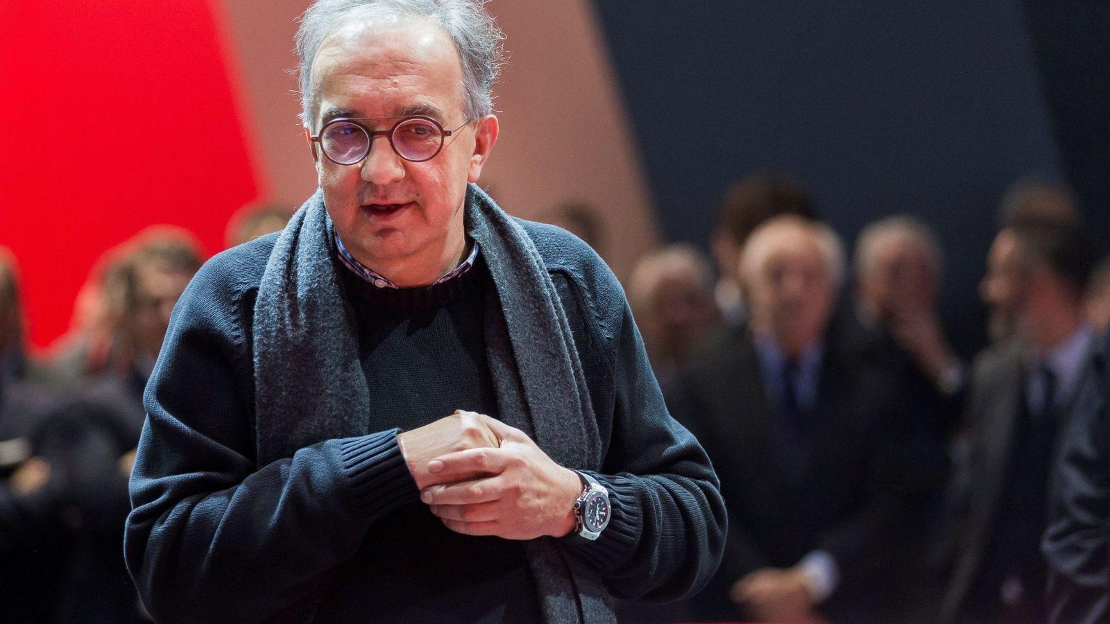 Foto: Sergio Marcchionne, ex presidente de Ferrari