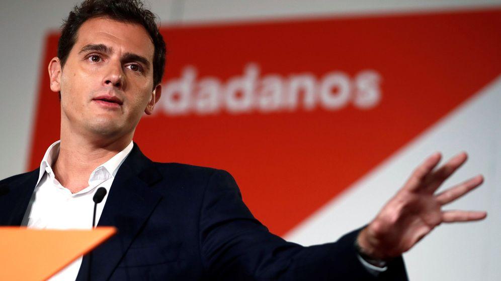 Foto: El presidente de Ciudadanos, Albert Rivera, en un acto de su partido. (EFE)