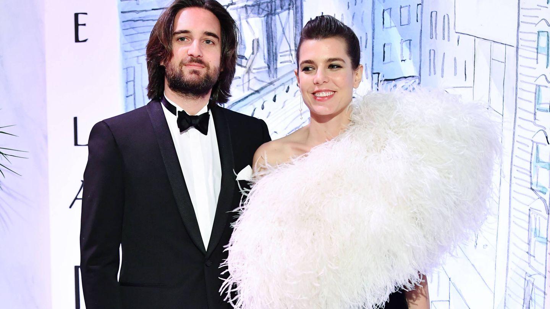 Carlota Casiraghi y Dimitri Rassam en una imagen del pasado marzo.(Getty)