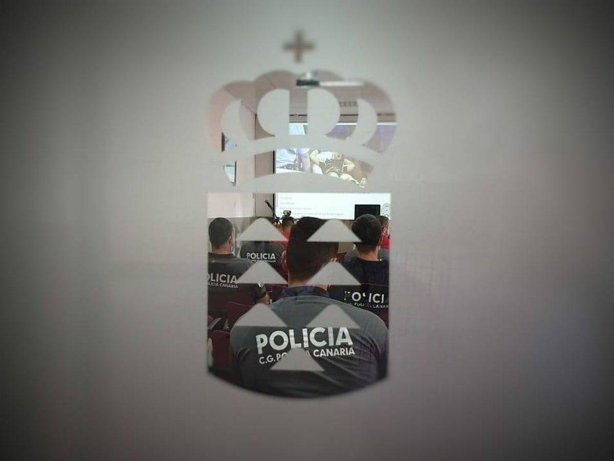 Foto: Imagen de archivo de un examen de la Policía Canaria. (Gobierno de Canarias)