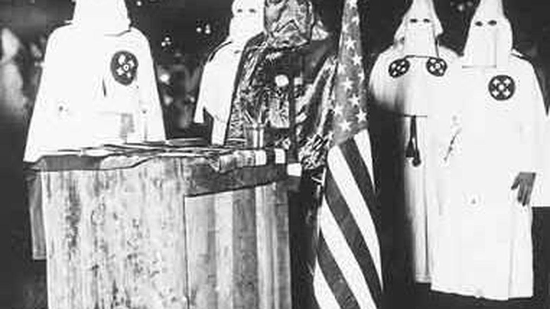 Miembros del Ku Klux Klan. (CC)