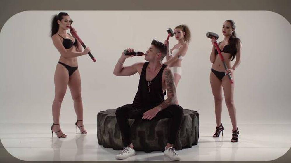 Foto: Fotograma del videoclip de 'Acércate', el primer single de David Lafuente