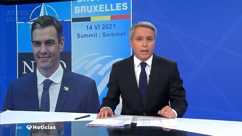 Vicente Vallés, en boca de todos por su análisis del encuentro entre Sánchez y Biden