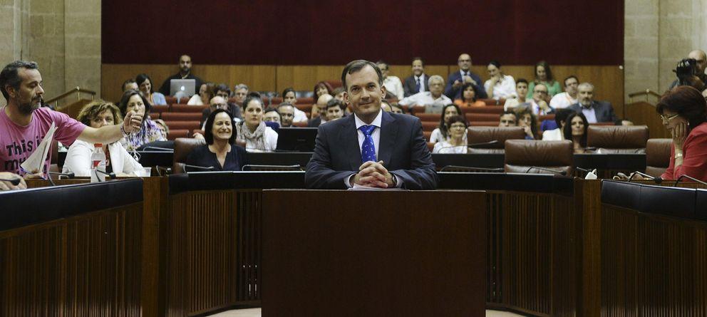 Foto: El portavoz y coordinador territorial de UPyD en Andalucía, Martín de la Herrán (EFE)