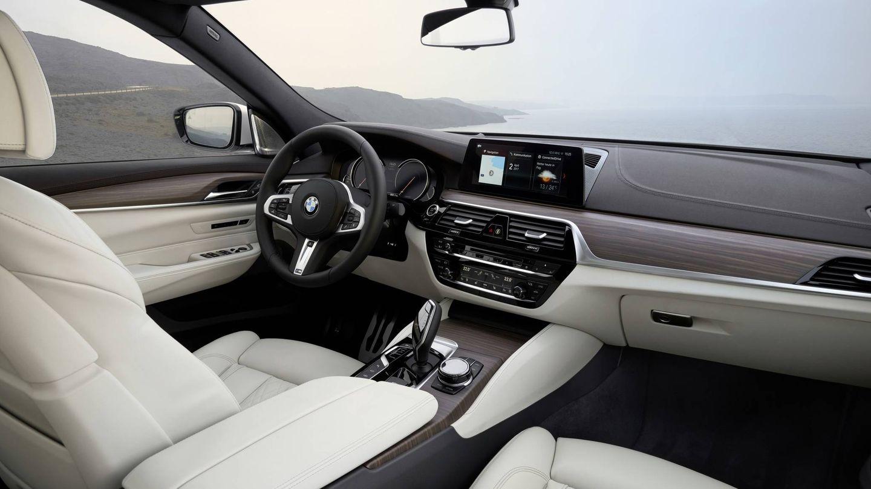 Interior del nuevo Serie 6 GT.