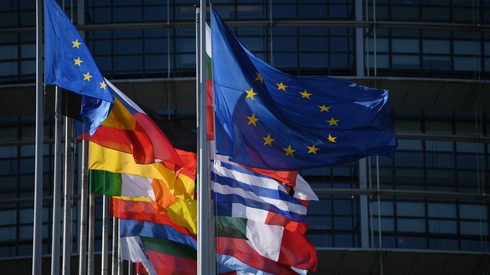 Foto: Banderas de la Eurozona