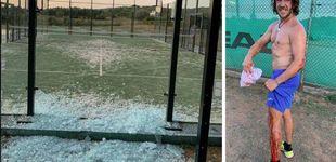 Post de El accidente de Carles Puyol tras reventar el cristal de una pista de pádel
