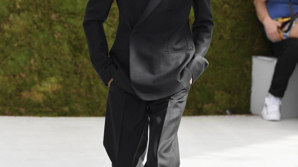 Foto: Nicolás de Dinamarca desfilando para Dior. (Getty)