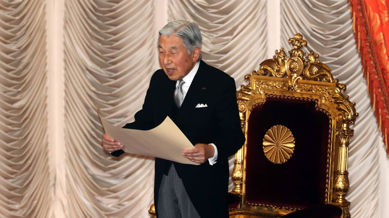 Foto: Akihito, emperador de Japón, en una imagen de archivo (Gtres)