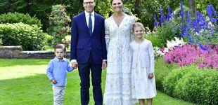 Post de Estelle y Oscar, protagonistas involuntarios del cumpleaños de Victoria de Suecia