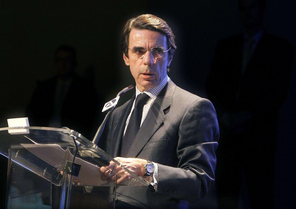 Foto: El expresidente del Gobierno español, José María Aznar (EFE)