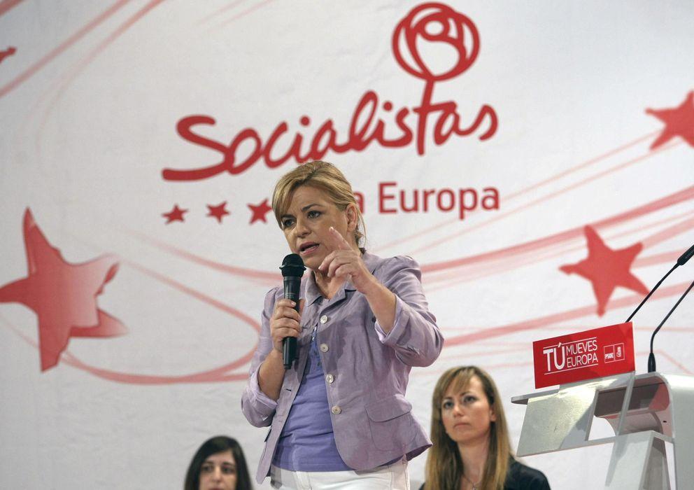 Foto: La candidata socialista al Parlamento Europeo, Elena Valenciano. (EFE)