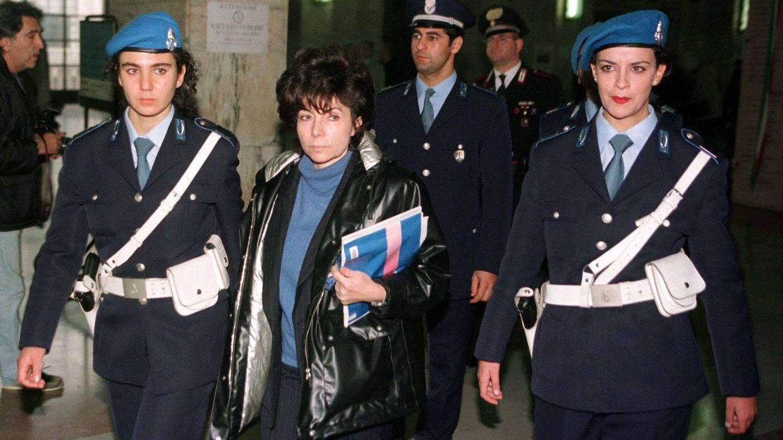 Foto: Patrizia Reggiani, abandonando la corte de Milán. (Reuters)