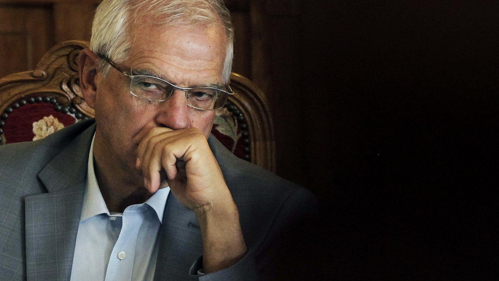 Foto: El expresidente del Parlamento Europeo, Josep Borrell. (Efe)