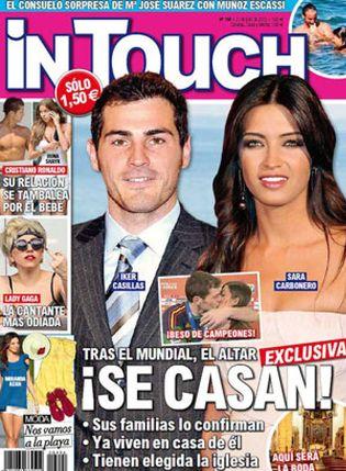 Foto: ¿Se casan Sara Carbonero e Iker Casillas?