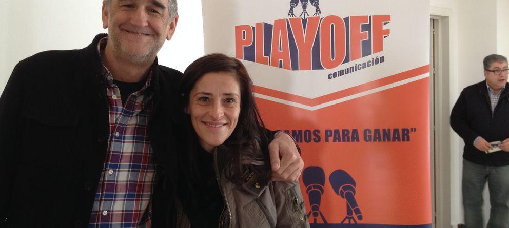 Foto: Iturriaga y Pilar Casado en el Congreso (Agustín Rivera).