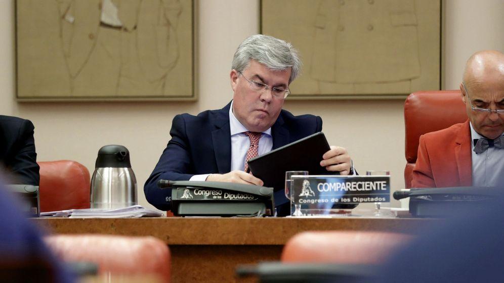 Foto:  El secretario de Estado de Hacienda, José Enrique Fernández de Moya