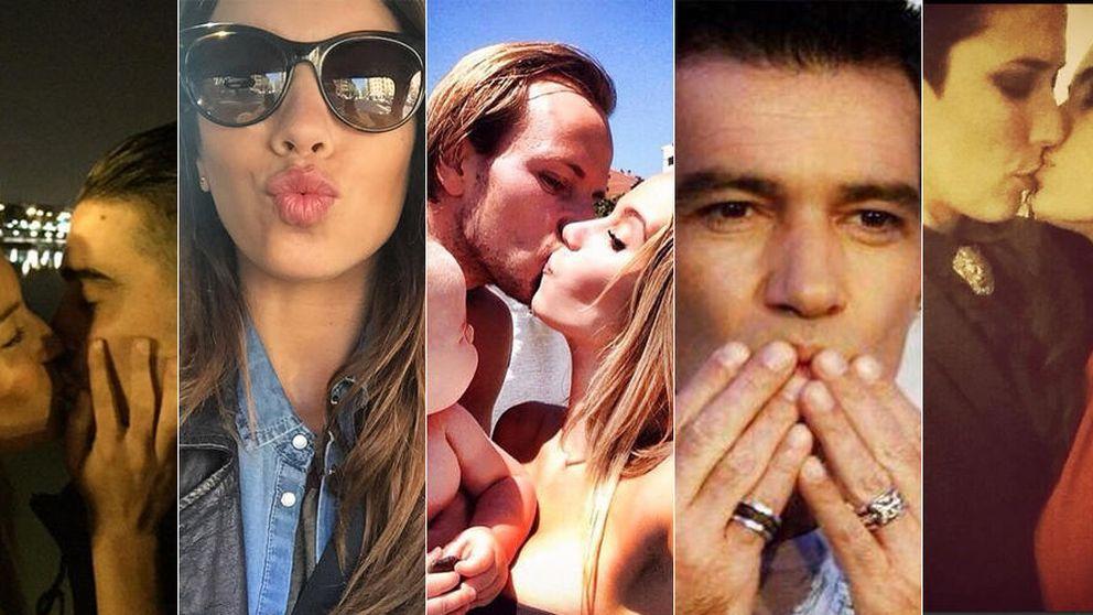 Instagram - Los famosos celebran el Día Internacional del beso