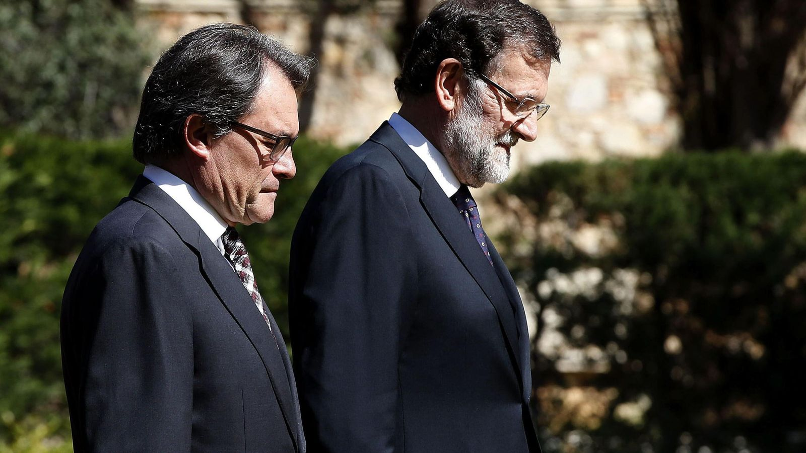 Foto: Artur Mas y el presidente del Gobierno, Mariano Rajoy. (EFE)