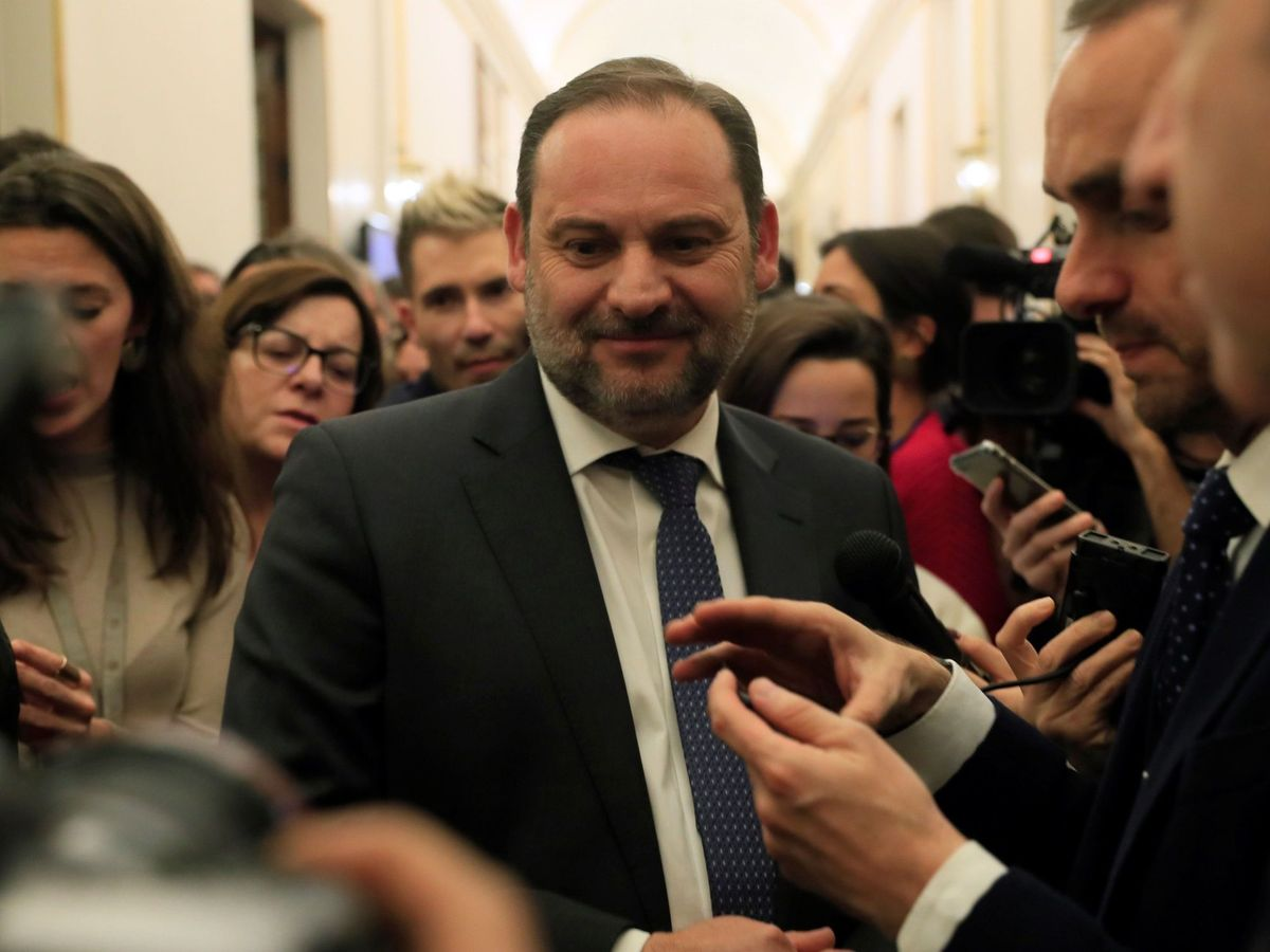Foto: El ministro de Transportes, José Luis Ábalos. (EFE)