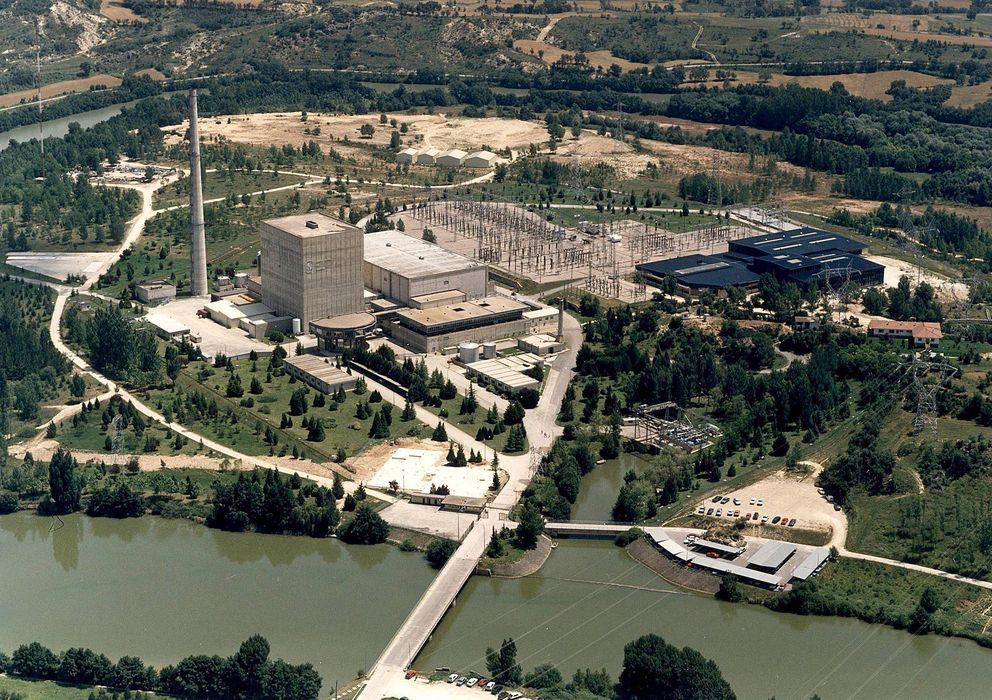 Foto: Central nuclear de Santa María de Garoña, Burgos (EFE)