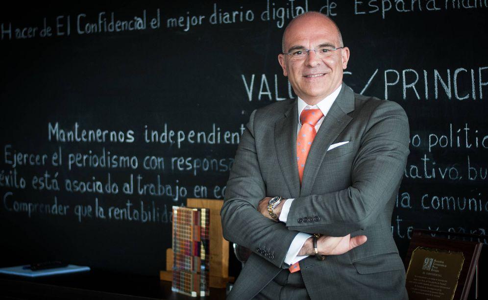 Foto: Doctor Ángel Durántez. (Foto: Carmen Castellón)