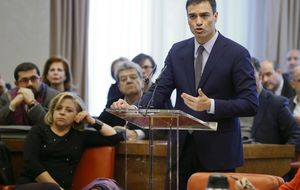 La semana 'yanqui' de Sánchez: Casa Blanca, FMI y Georgetown