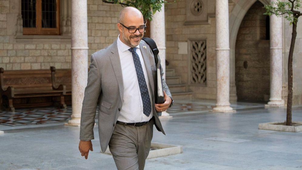 Foto: El 'conseller' de Interior, Miquel Buch. (EFE)