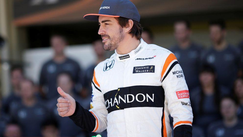 Boullier tira la toalla con Alonso, quien devorará el calendario de 2018