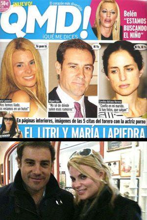 Foto: Carolina Herrera y 'El Litri' pierden la batalla contra María Lapiedra