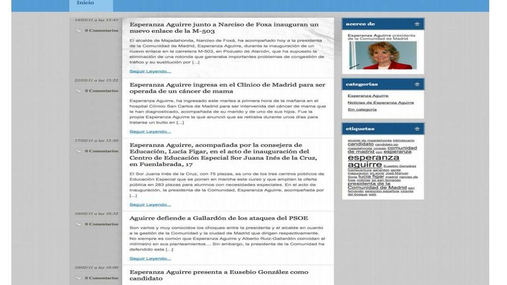 Podemos identifica 400 webs encargadas a Púnica por el PP para atacar a la oposición