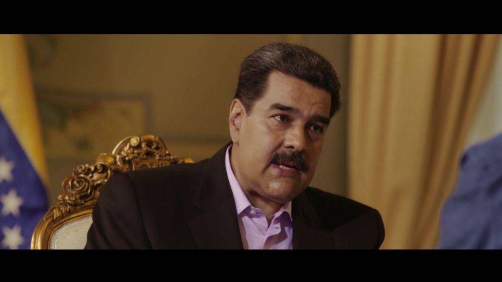 El gorila Maduro y su misalito azul