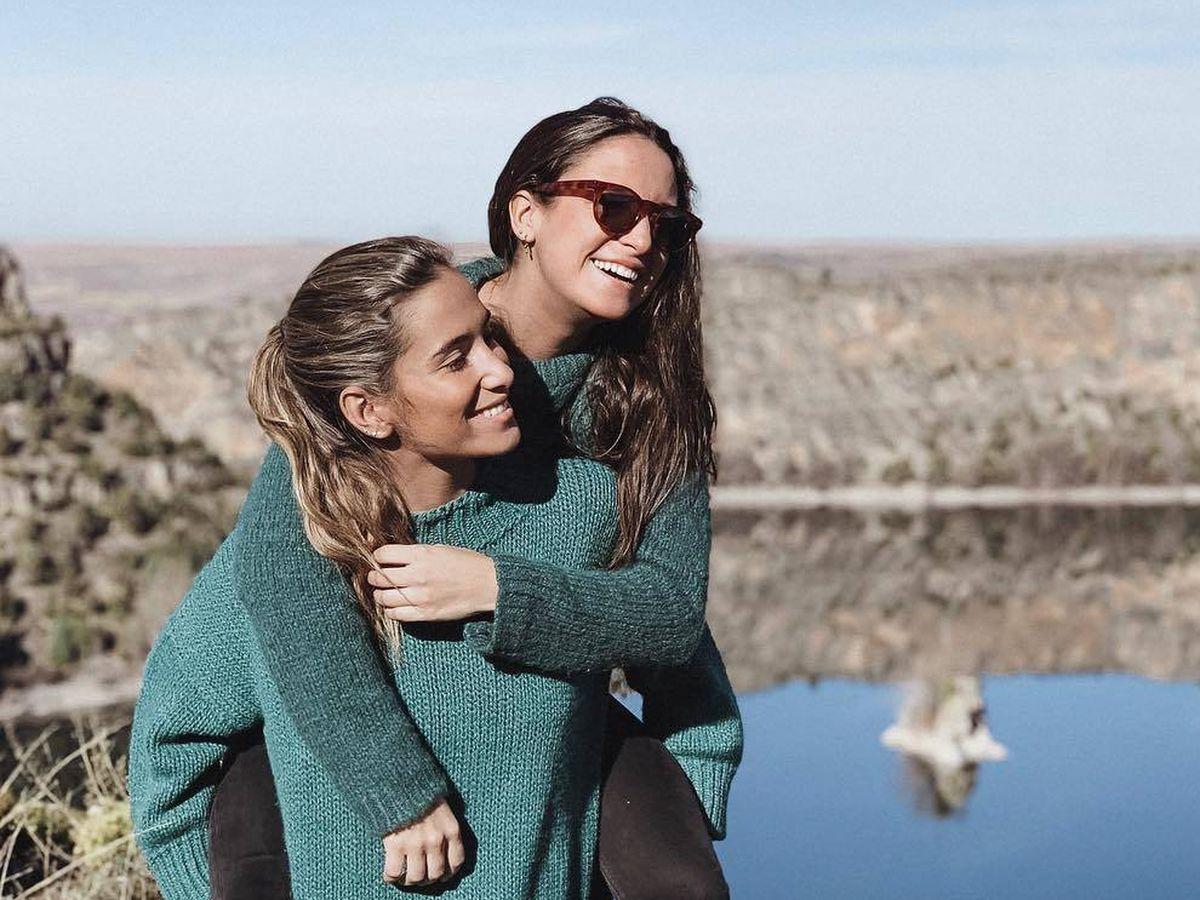 Foto: María y Marta Pombo, en una imagen de archivo. (Redes)
