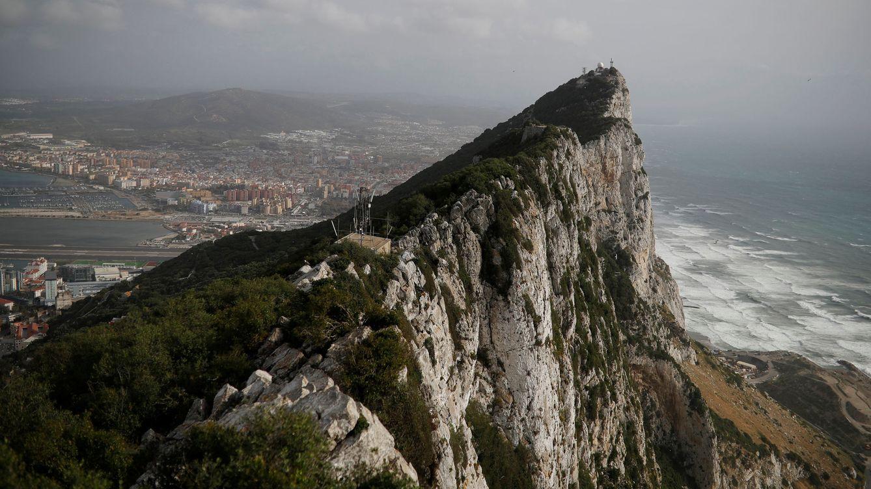Foto: 'La Roca' con la que ha vuelto a tropezar el Brexit. (Reuters)