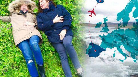 Las locas aventuras de Carmen Martínez-Bordiú y Fiona por Islandia