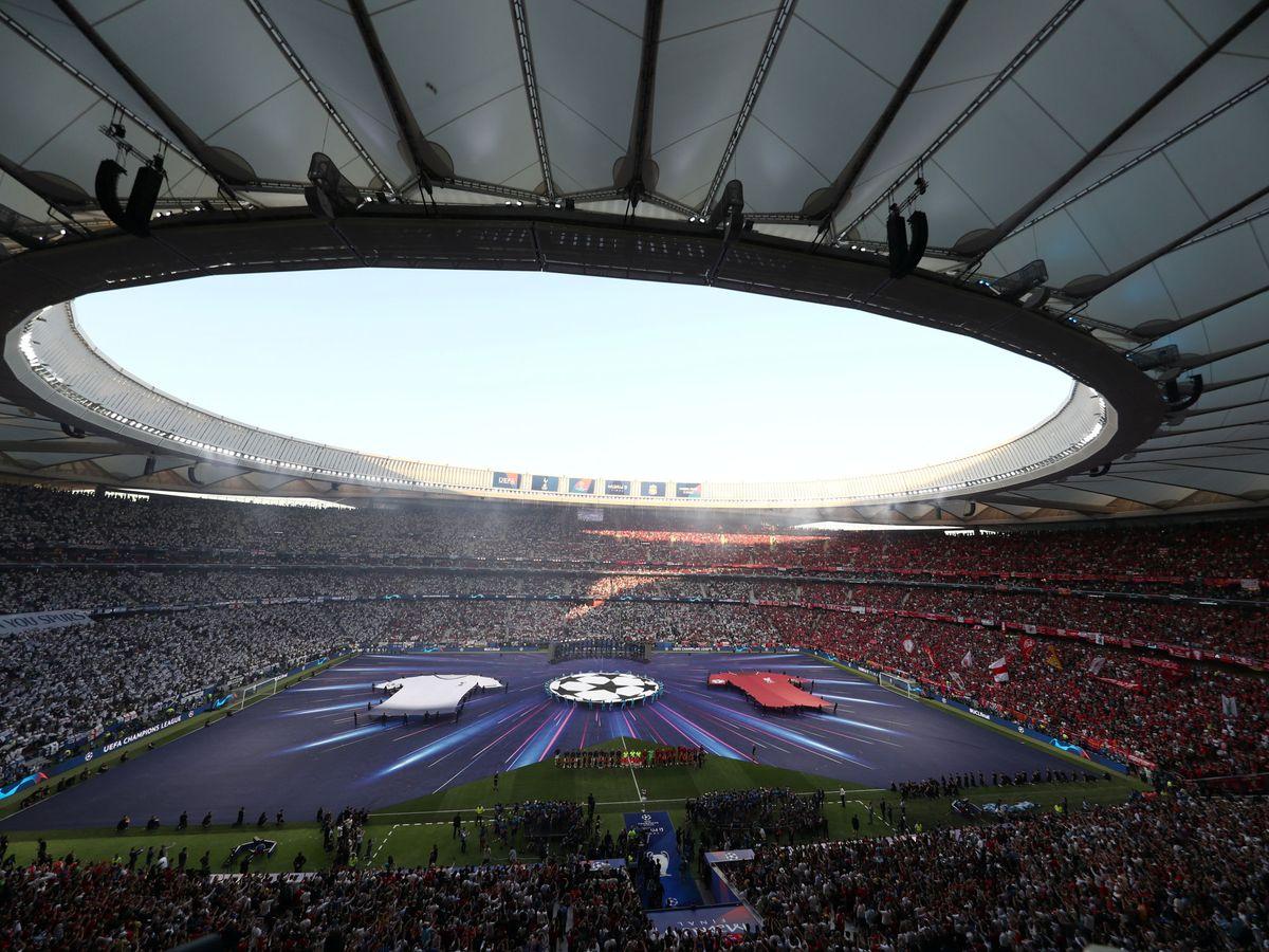 Foto: Imagen del Metropolitano en la final de la Champions del 1 de junio de 2019. (Efe)