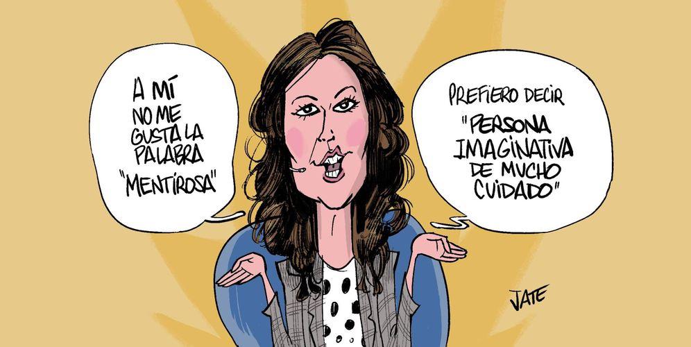 Foto: María Jesús Ruiz. Viñeta de Jate para Vanitatis