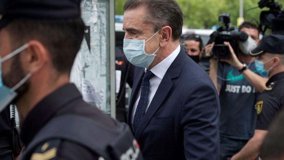 Foto: Franco declara como imputado ante la jueza que investiga los actos del 8m