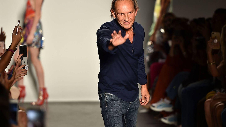 El diseñador Custo Dalmau en la Fashion Week de Nueva York. (Fuente: Getty).