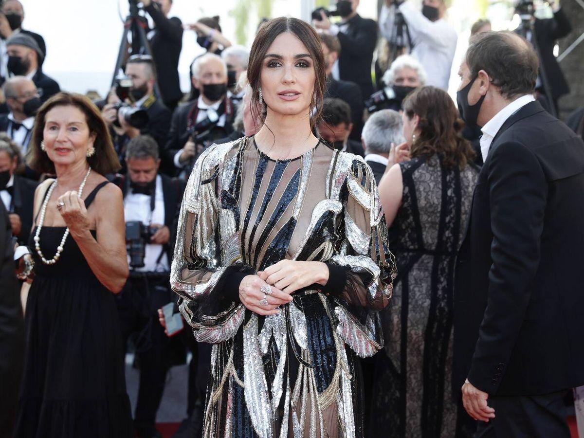 Foto: Paz Vega, impresionante en Cannes.