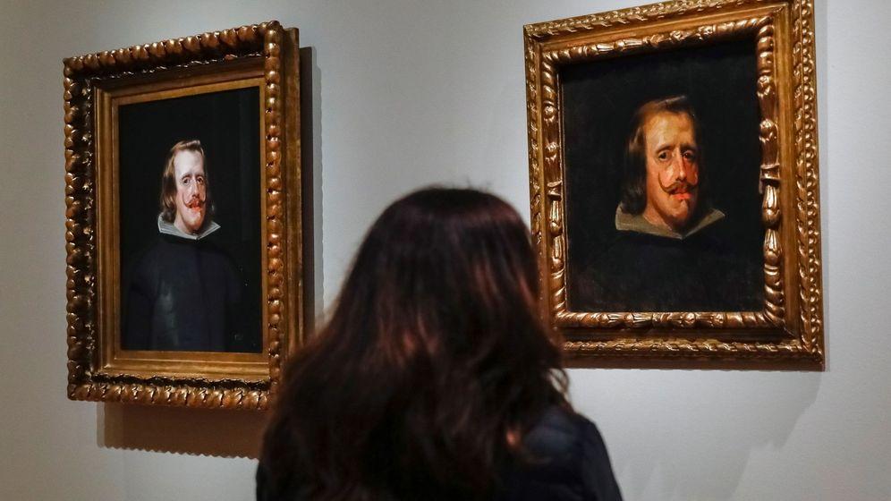 Foto: Retratos de Felipe IV en el Museo del Prado. (EFE)