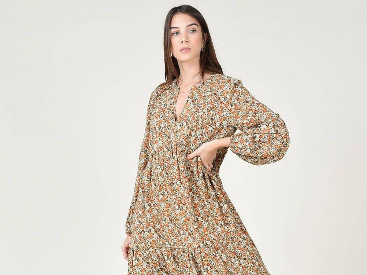 Foto: Vestido de Molly Bracken a la venta en El Corte Inglés. (Cortesía)