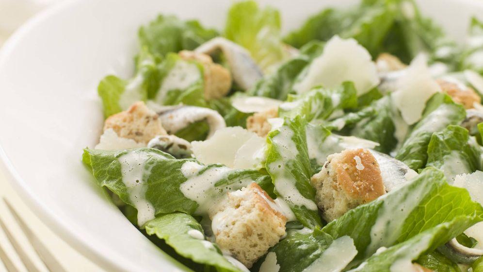 Foto: La ensalada César contiene más calorías. (iStock)
