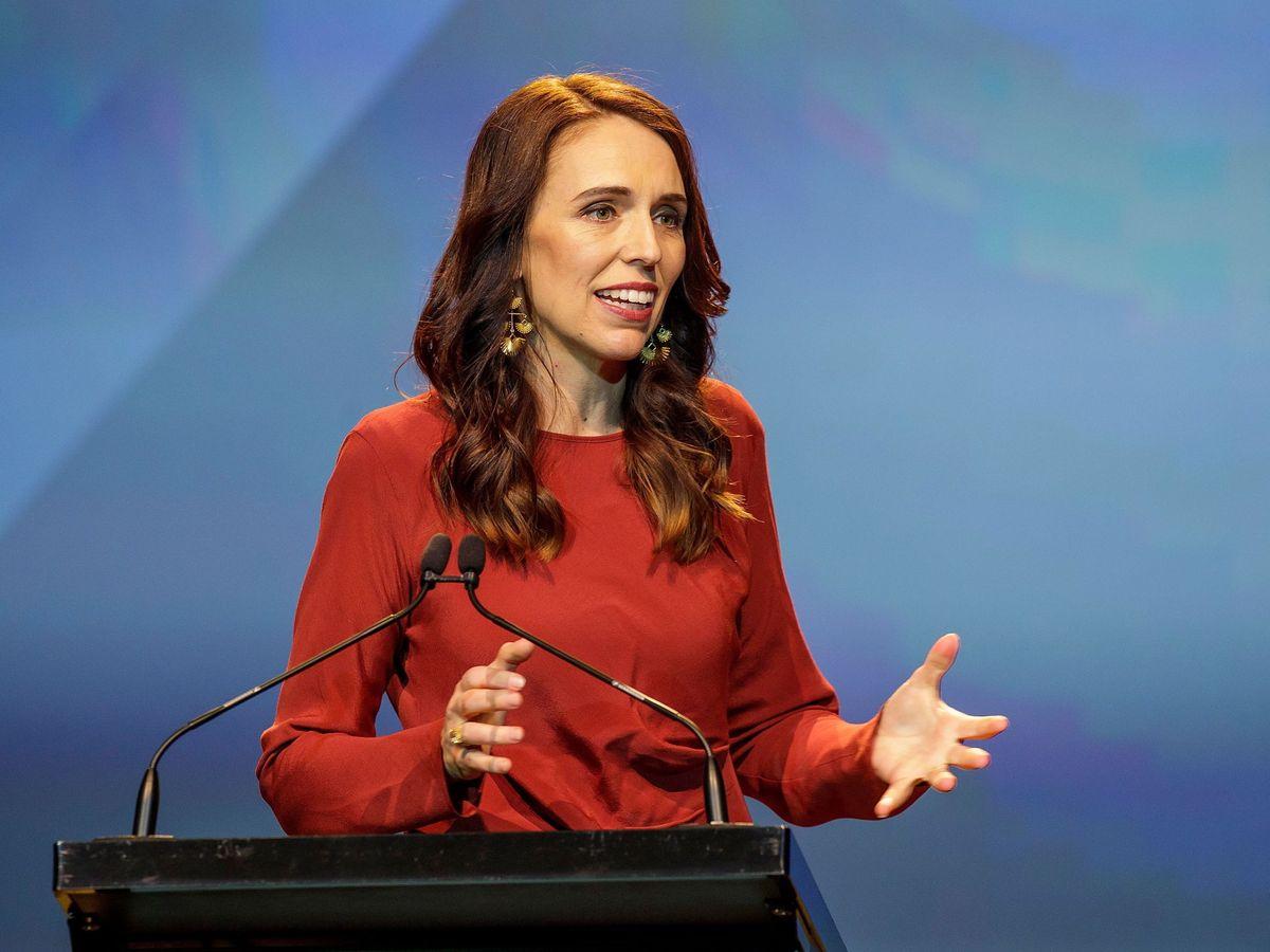 Foto: La primera ministra de Nueva Zelanda, Jacinda Ardern. (EFE)