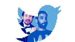 Si quiere insultar usted a Dani Rovira, Pablo Iglesias y Alfonso Ussía, pulse aquí