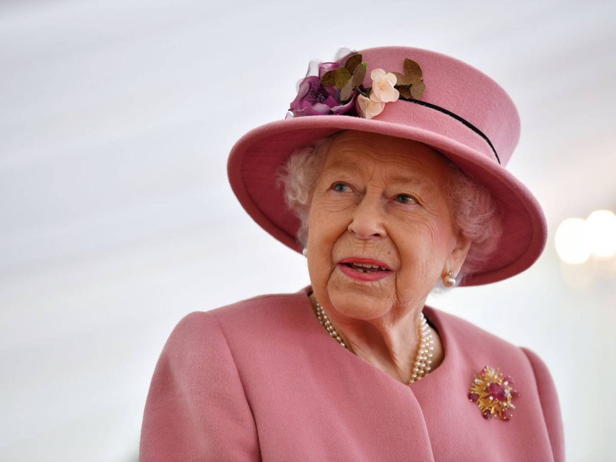 Foto: La reina Isabel, en su reaparición pública. (Reuters)